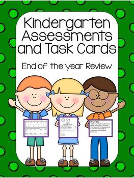 Kindergarten Assessments and Task Cards