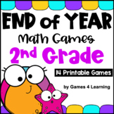 End of Year Math Games Second Grade