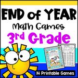 End of Year Math Games Third Grade
