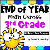 End of Year Math Games Third Grade