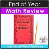 End of Year Math Review Mini Booklet {Grade 6}