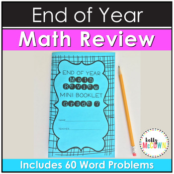 End of Year Math Review Mini Booklet {Grade 7}