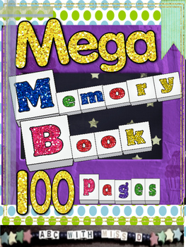 End of Year Mega Memory Book-Over 100 Pages of Creative Wr