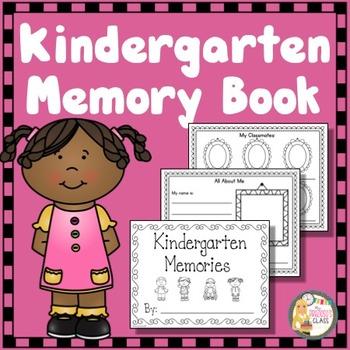 End of Year Memory Book Kindergarten