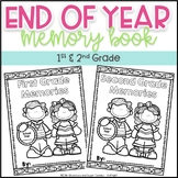 End of Year Memory Book ~ 1st and 2nd Grade