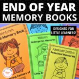 End of Year Memory Book for Preschool, Pre-k, and Early Ch