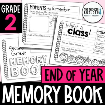 End of Year Memory Book {2nd Grade}