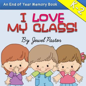 End of the Year Activities Memory Book (Kindergarten, 1st