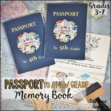 End of Year Memory Book Passport
