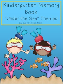 End of Year Memory Book - Under the Sea