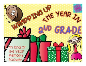 End of Year Memory Book - Wrapping Up the Year in 2nd Grade