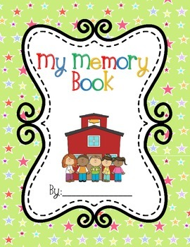 End of Year Memory Book - Yearbook