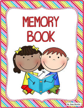 End of Year Memory Book for Kinders and Firsties