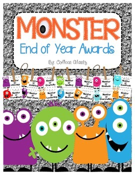 End of Year Monster Awards