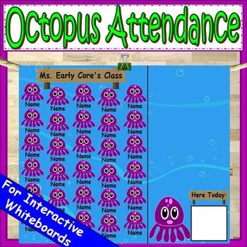 Attendance Chart Octopus