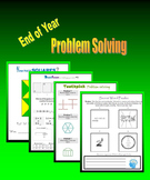 End of Year Problem Solving (Brainteasers, Patterns, Seque
