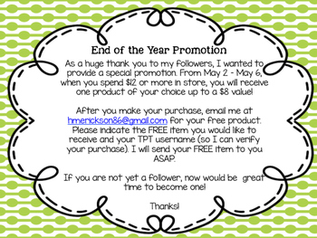 End of Year Promotion