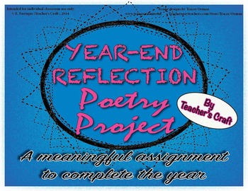 End-of-Year Reflection Poetry Project