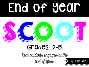 End of Year SCOOT