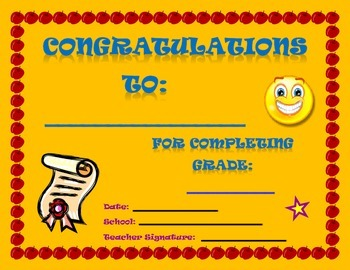 End of Year STUDENT AWARDS/CERTIFICATES (7)