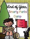 End of Year Smarty Pants Camp for First Grade