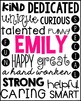 End of Year Student Printable Gift - Editable Names