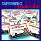 End of the Year Awards Superhero Photo Booth, Editable Car