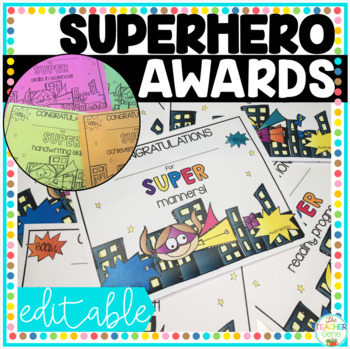 End of Year Superhero Awards