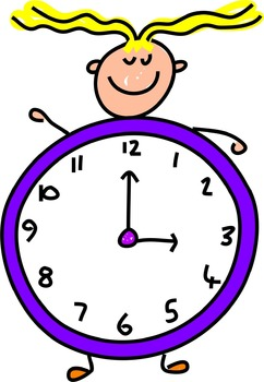 Test Prep ~ Telling Time: Hour Before & After Math Center