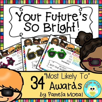 "End of Year Awards ""Your Future's So  Bright"" with Editabl"