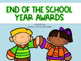 End of the School Year Student Awards {56 Awards}