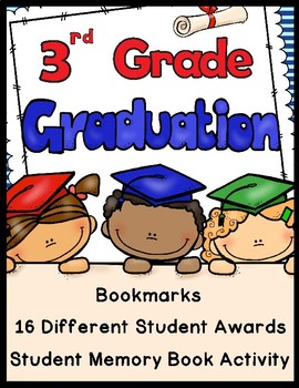 End of the Year Activities (3rd Grade) - Awards, Bookmarks