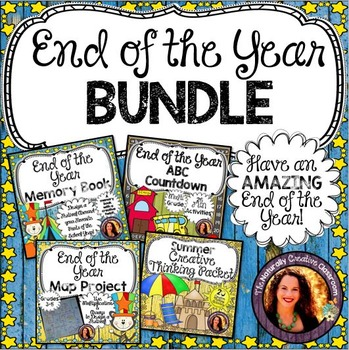 End of the Year Activity Bundle:4 End of the Year Activiti