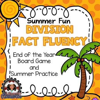 End of the Year Division Fluency Game, Timed Tests,  and S