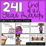 Superlatives / End of the Year Awards {181 Editable & Non-
