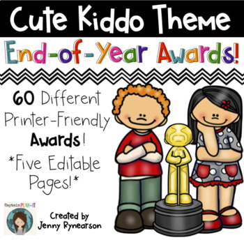 End-of-the-Year Awards! 60 Printer-Friendly Awards! INCLUD