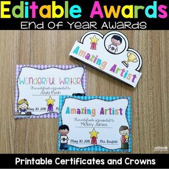 End of the Year Awards - End of the Year Certificates and