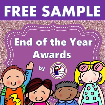 End of the Year Awards Free