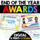 End of the Year Activities - Awards Activities Portfolios