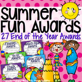 End of the Year Awards- Summer Fun Theme