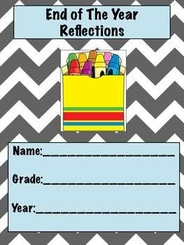 End of the Year Booklet / Reflections / Yearbook / Activit