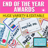 End of the Year Brag Tag Awards