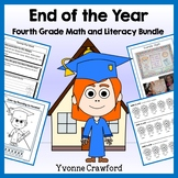 End of the Year Bundle for 4th grade