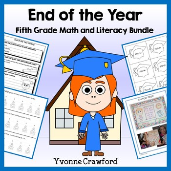 End of the Year Bundle for 5th grade