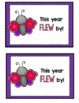 End of the Year Butterfly Gift Tags