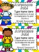 End of the Year Cards Editable