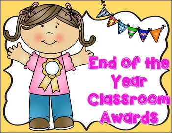 Classroom Awards {End of the School Year}