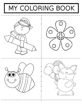 End of the Year Coloring Book (Elementary)