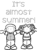 End of the Year Coloring Pages and Summer Pages