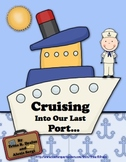 End of the Year Cruise Themed Unit for Primary Students